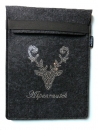 Strass Hirsch Alpenrausch Tasche Case f�r IPad ebook Reader Tablet Netbook Filz